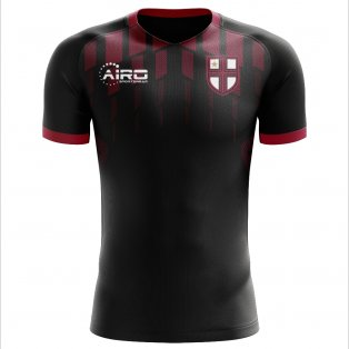 2020-2021 Milan Pre-match Concept Football Shirt - Kids