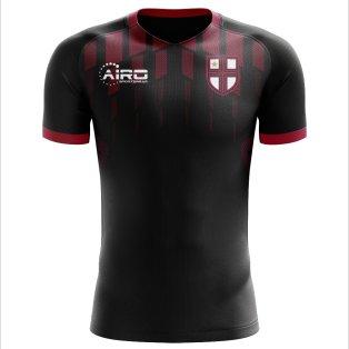 2019-2020 Milan Pre-match Concept Football Shirt - Kids
