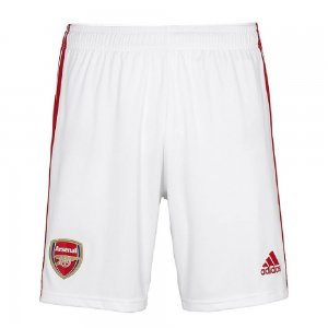 2019-2020 Arsenal Adidas Home Shorts (White)