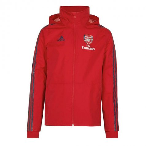 2019-2020 Arsenal Adidas Storm Jacket (Red) - Kids