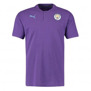 755c154380d0c3 2019-2020 Manchester City Puma Casual Performance Polo Shirt (Purple)