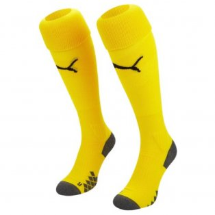 2019-2020 Manchester City Third Goalkeeper Socks (Yellow) - Kids