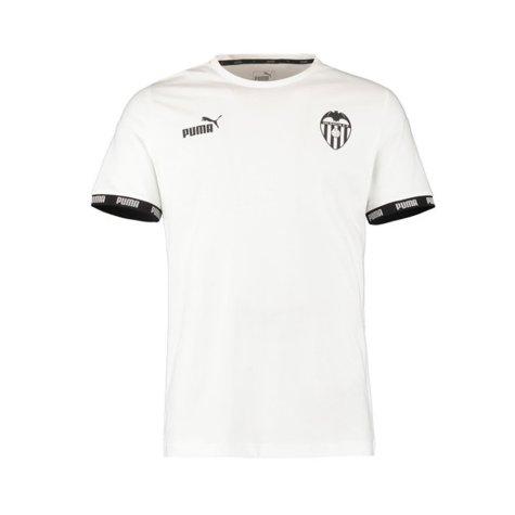 2019-2020 Valencia Puma Football Culture Tee (White)