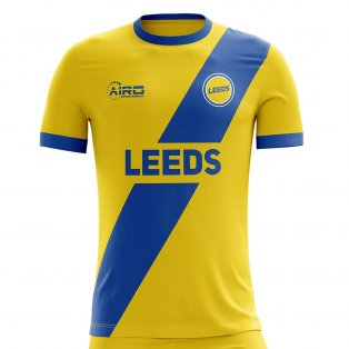 2020-2021 Leeds Away Concept Football Shirt