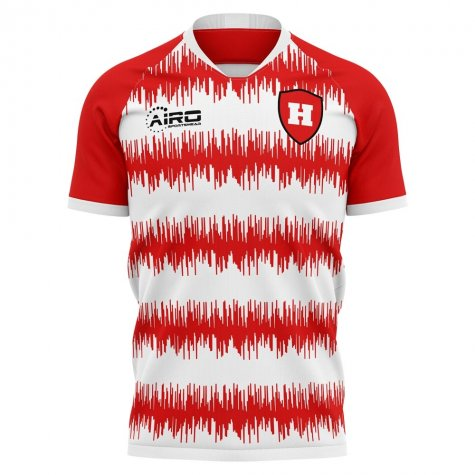 2019-2020 Hamilton Home Concept Football Shirt - Womens