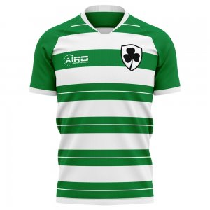 2020-2021 Shamrock Rovers Home Concept Football Shirt - Womens