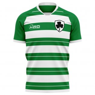 2019-2020 Shamrock Rovers Home Concept Football Shirt
