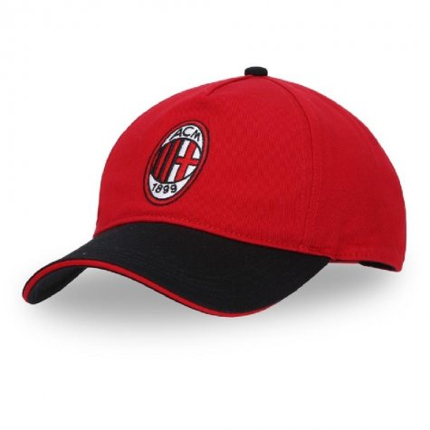 2019-2020 AC Milan Puma Training Cap (Red)
