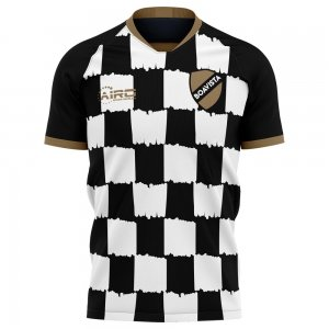 2020-2021 Boavista Home Concept Football Shirt