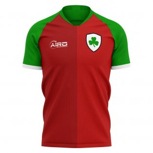 2020-2021 Cliftonville Home Concept Football Shirt