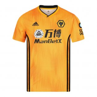 2019-2020 Wolves Home Football Shirt