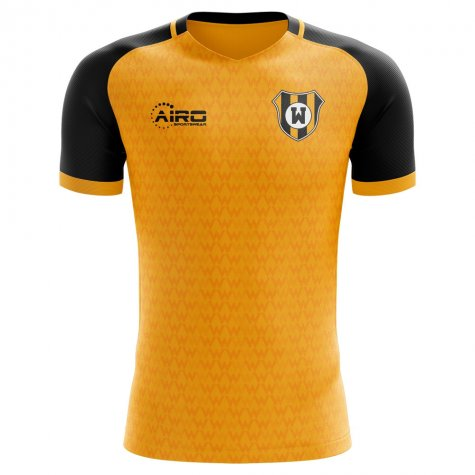 2020-2021 Wolves Concept Training Shirt (Gold) - Womens