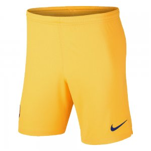 2019-2020 Barcelona Away Nike Football Shorts (Yellow)