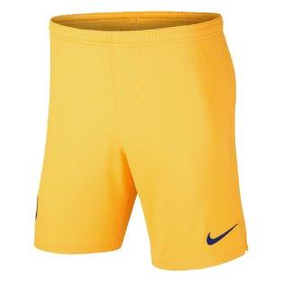 2019-2020 Barcelona Away Nike Football Shorts (Yellow)