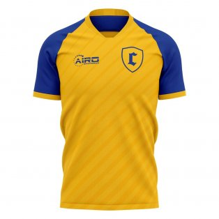 2020-2021 Chievo Verona Home Concept Football Shirt