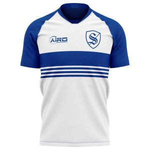 2020-2021 Strasbourg Away Concept Football Shirt - Little Boys