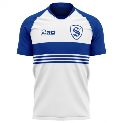 2019-2020 Strasbourg Away Concept Football Shirt - Womens