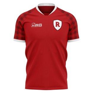 2019-2020 Stade Reims Home Concept Football Shirt