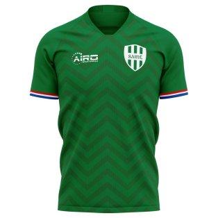 2020-2021 Saint Etienne Home Concept Football Shirt