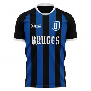 2019-2020 Club Brugge Home Concept Football Shirt - Kids