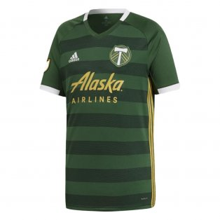 2019 Portland Timbers Adidas Home Football Shirt