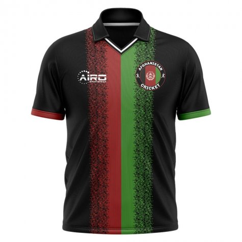 2020-2021 Afghanistan Cricket Concept Cricket Shirt - Little Boys
