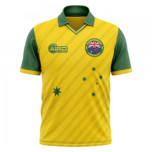 2020-2021 Australia Cricket Concept Shirt - Womens