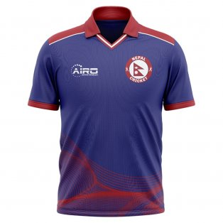 2019-2020 Nepal Cricket Concept Shirt