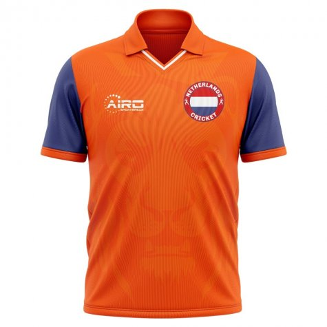 2019-2020 Netherlands Cricket Concept Shirt