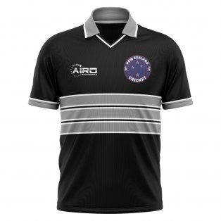 2020-2021 New Zealand Cricket Concept Shirt