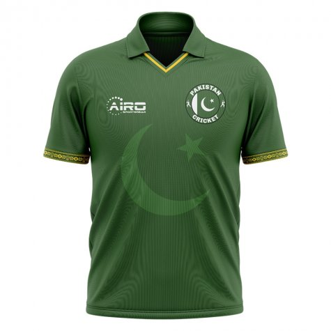 2020-2021 Pakistan Cricket Concept Shirt - Womens