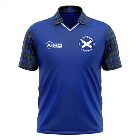 2020-2021 Scotland Cricket Concept Shirt - Little Boys