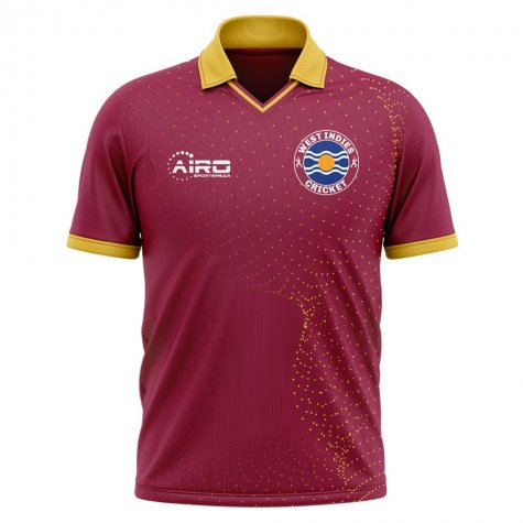 2020-2021 West Indies Cricket Concept Shirt - Womens