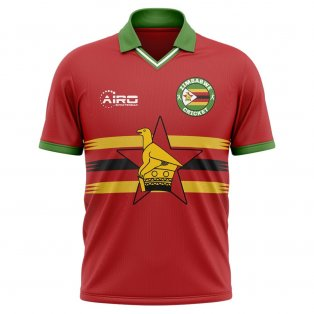 2019-2020 Zimbabwe Cricket Concept Shirt - Little Boys
