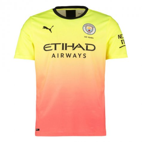 2019-2020 Manchester City Puma Third Football Shirt