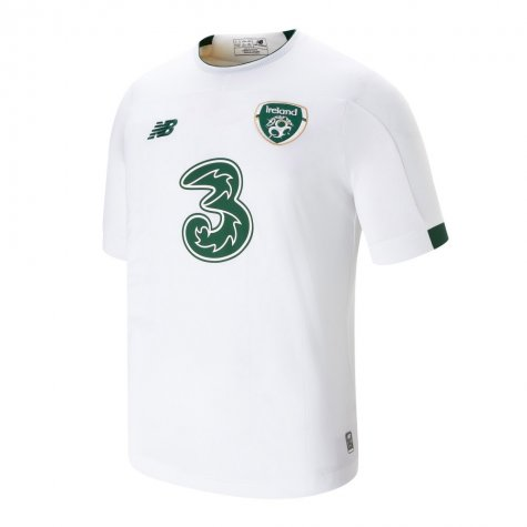 2019-2020 Ireland Away New Balance Football Shirt (Kids)