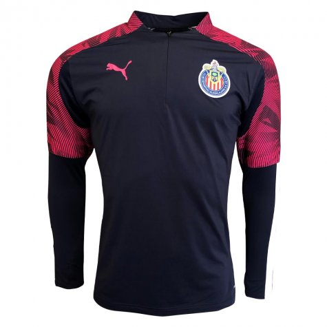 2019-2020 Chivas Puma Quarter Zip Training Top (Peacot)