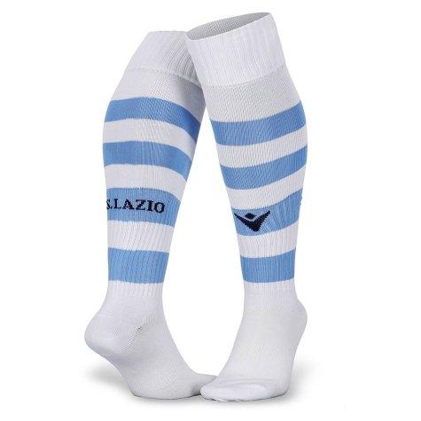 2019-2020 Lazio Home Macron Socks (White) - Kids