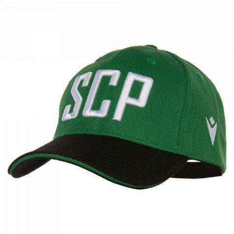 2019-2020 Sporting Lisbon Macron Baseball Cap (Green)