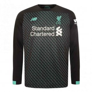 2019-2020 Liverpool Third Long Sleeve Shirt (Kids)