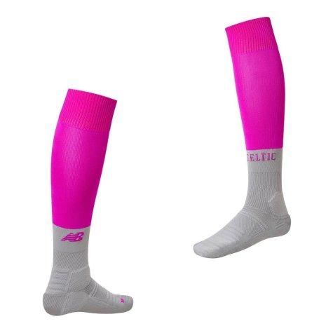 2019-2020 Celtic Third Socks (Pink) - Kids