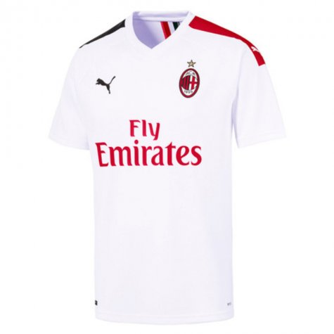 2019-2020 AC Milan Puma Away Football Shirt