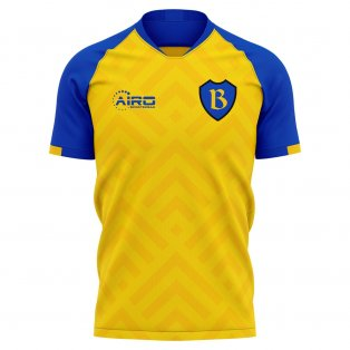 2020-2021 Bate Borisov Home Concept Football Shirt