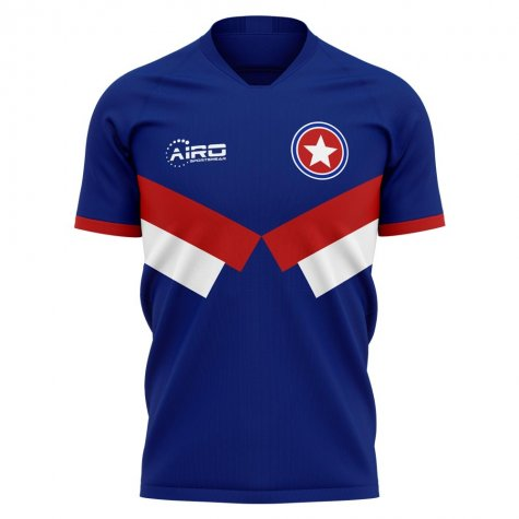 2020-2021 American Allstars Home Concept Football Shirt