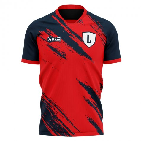 2020-2021 Lille Home Concept Football Shirt - Little Boys