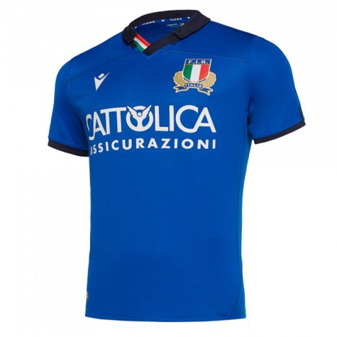 2019-2020 Italy Home Replica Rugby Shirt