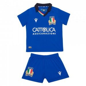 2019-2020 Italy Macron Home Rugby Mini Kit