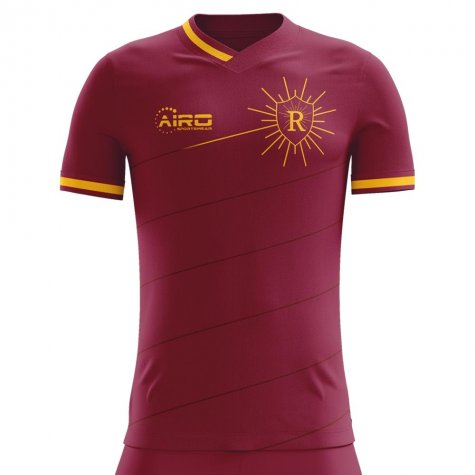2020-2021 Roma Home Concept Football Shirt - Little Boys
