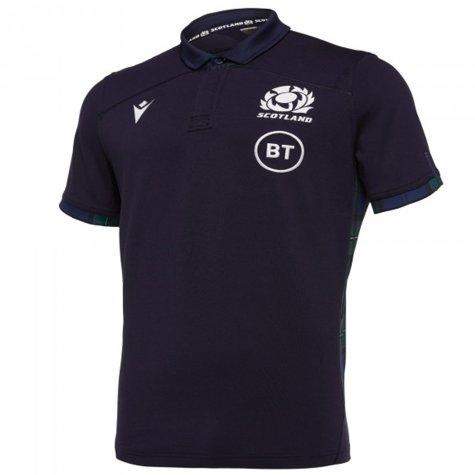 2019-2020 Scotland Home SS Cotton Rugby Shirt