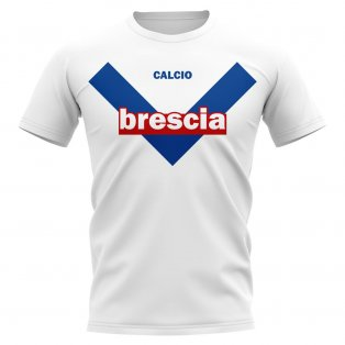 Brescia Vintage Football T-Shirt (White)